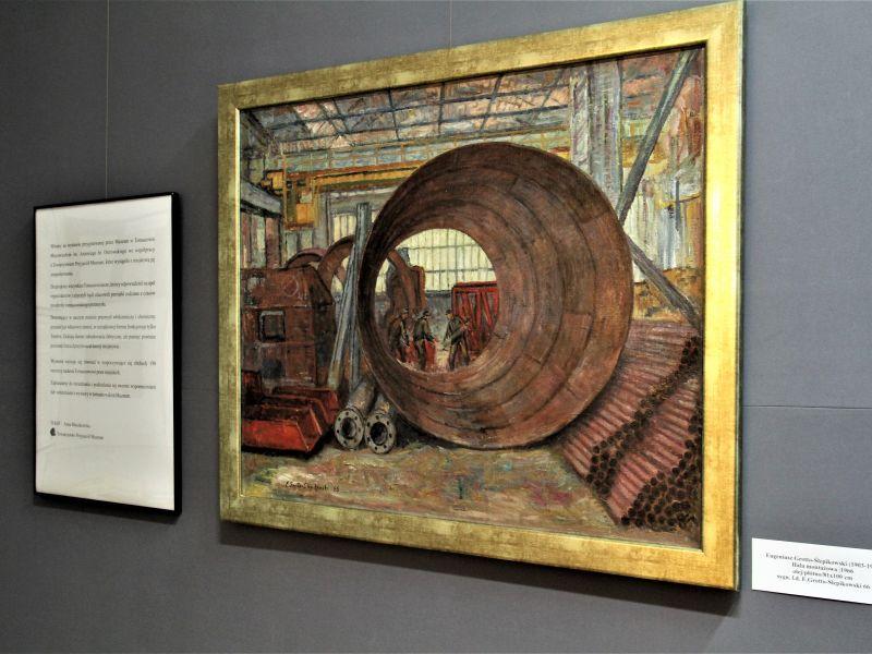 Fabryczny Tomaszów wykład i wystawa w muzeum