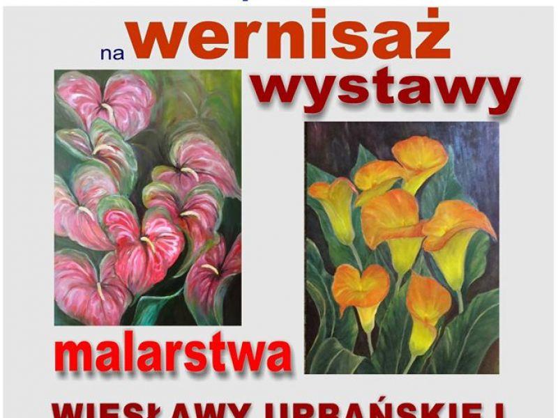wystawa malastwa Wiesławy Urbańskiej