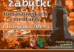 Kolejna kwesta na tomaszowskich cmentarzach
