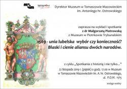 """Muzeum zaprasza na """"Spotkania z historią i nie tylko…"""""""