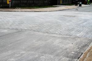Trwa przebudowa dróg na Ludwikowie