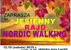Jesienny Rajd Nordic Walking