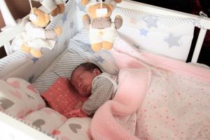 Nela Olczak pierwszą tomaszowianką urodzoną w 2020 roku w TCZ